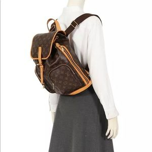 ❤️Louis Vuitton Bosphore Sac Ado Canvas Backpack